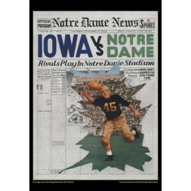 2021 Vintage Notre Dame Fighting Irish Football Calendar