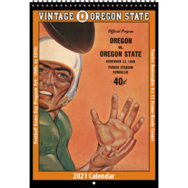 2021 Vintage Oregon State Beavers Football Calendar