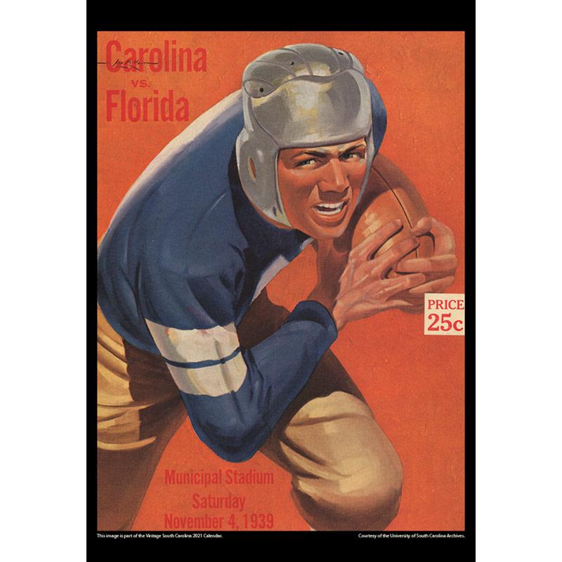 2021 Vintage South Carolina Gamecocks Football Calendar
