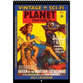 2021 Vintage SCI-FI Calendar