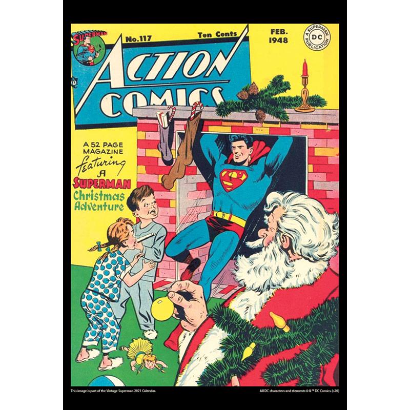 2021 Vintage Superman Calendar
