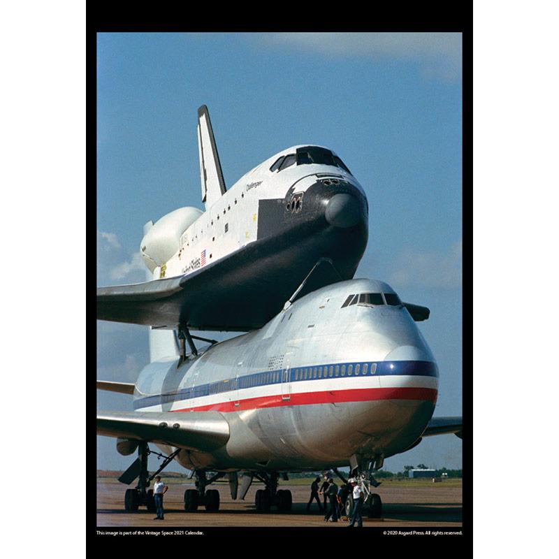 2021 Vintage Space Calendar