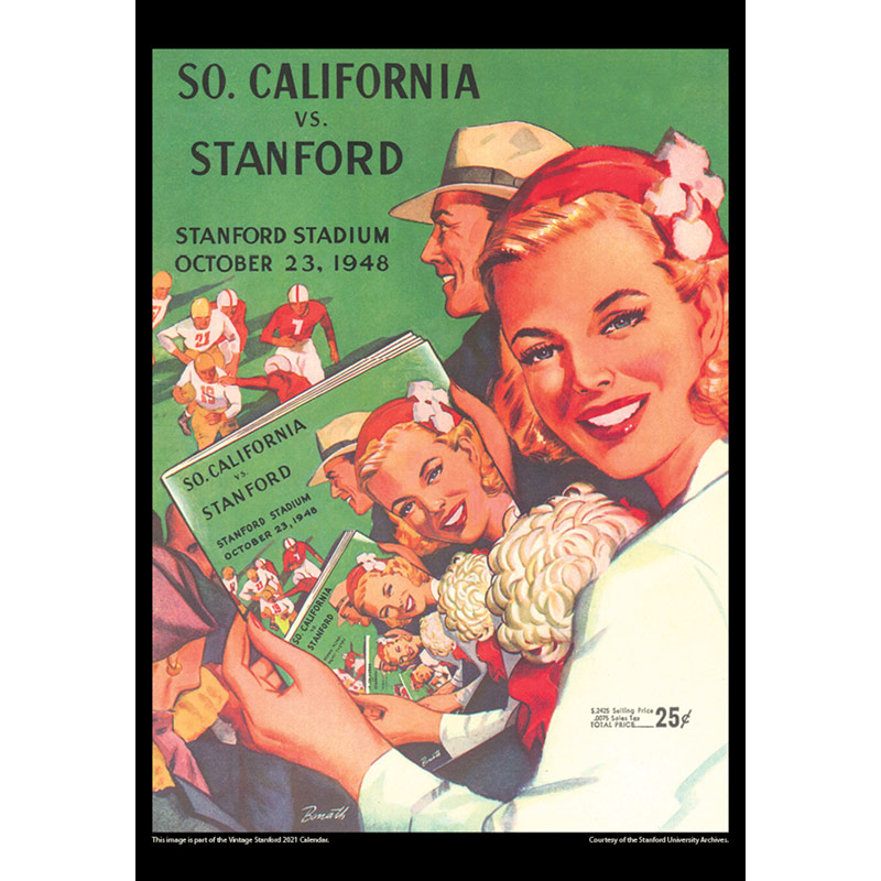 Stanford 2021 Calendar Images