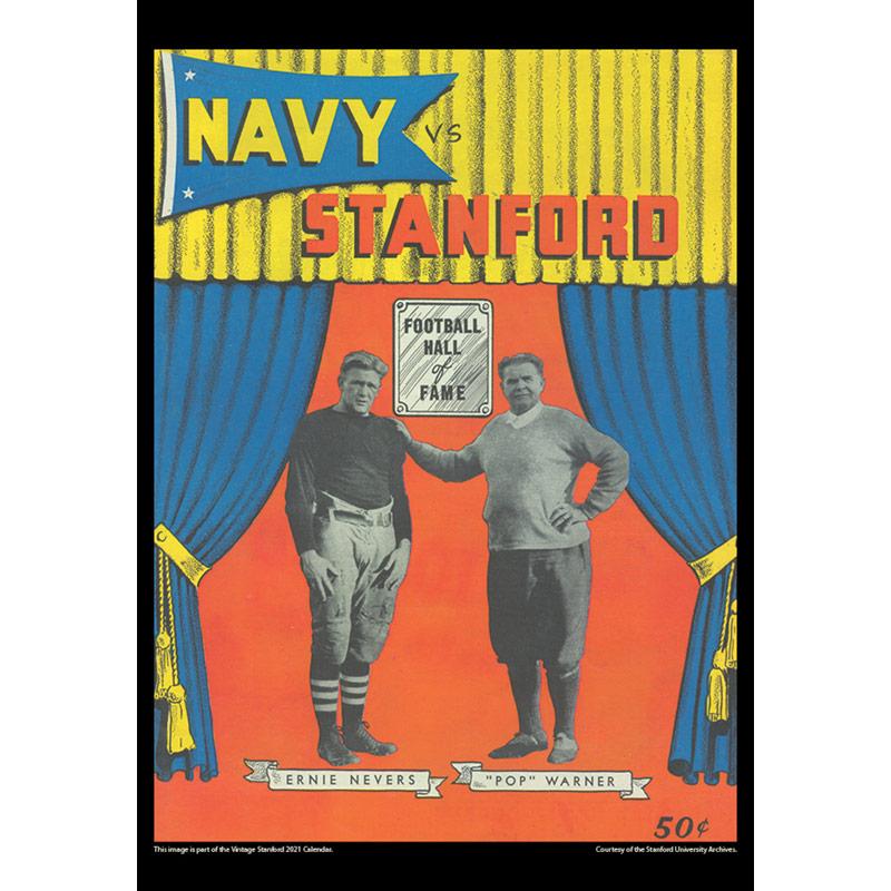 2021 Vintage Stanford Cardinal Football Calendar