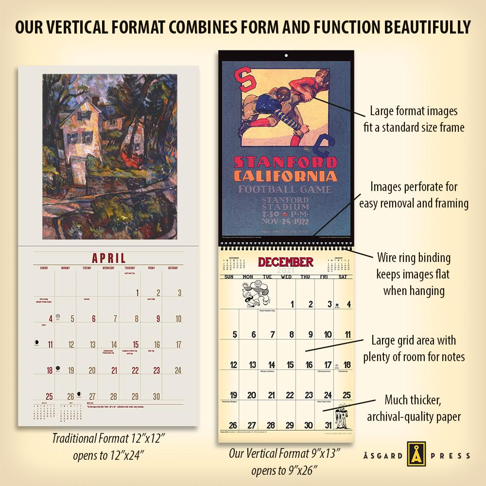 Images of Stanford 2021 Calendar