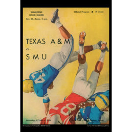 2021 Vintage Texas A&M Aggies Football Calendar
