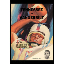 2021 Vintage Tennessee Volunteers Football Calendar