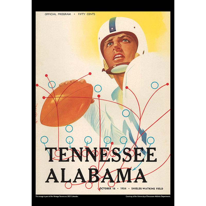 2021 Vintage Tennessee Volunteers Football Calendar