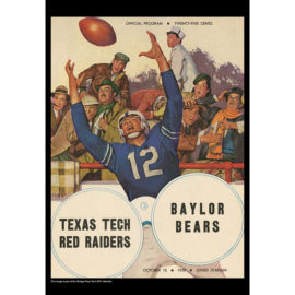 2021 Vintage Texas Tech Red Raiders Football Calendar