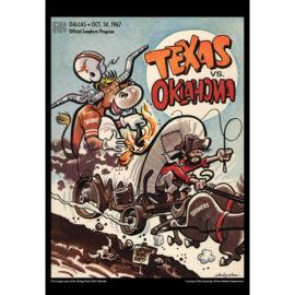 2021 Vintage Texas Longhorns Football Calendar