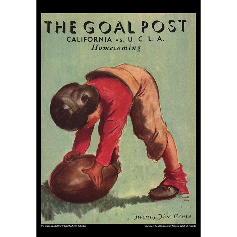2021 Vintage UCLA Bruins Football Calendar