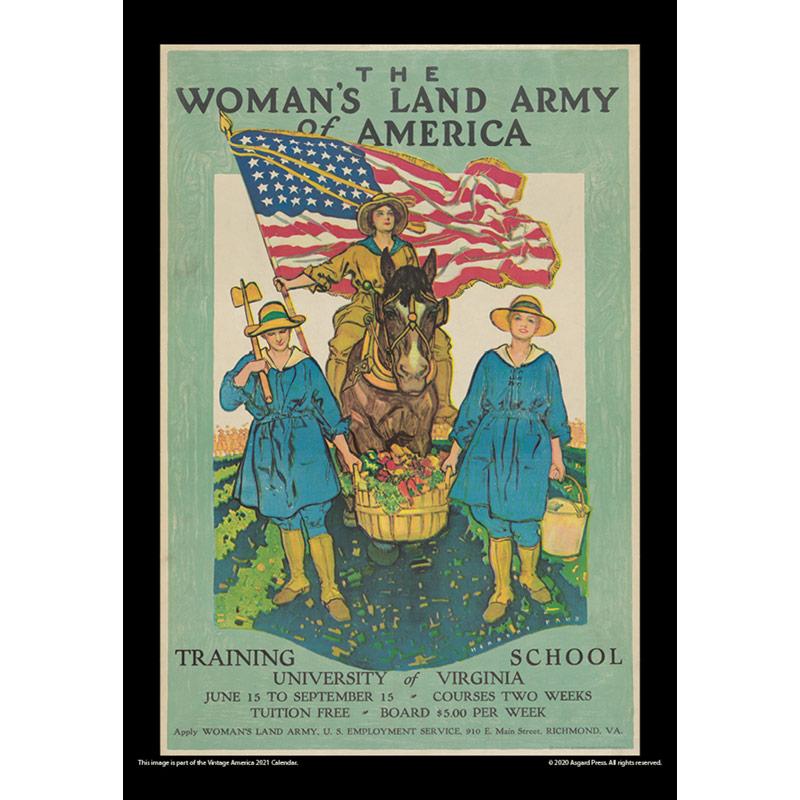 2021 Vintage America Calendar