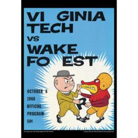 2021 Vintage Virginia Tech Hokies Football Calendar