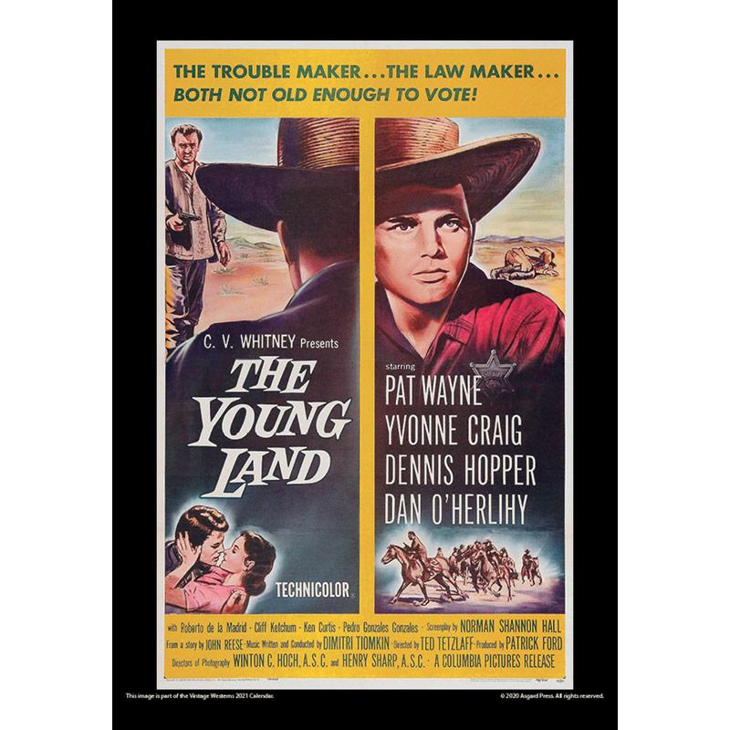 2021 Vintage Westerns Calendar