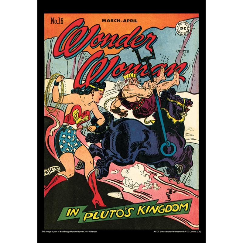 2021 Vintage Wonder Woman Calendar