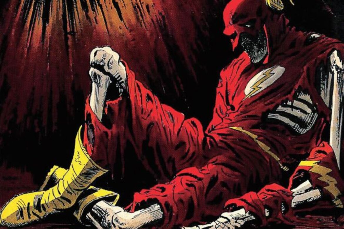 OH NO!!!  What Happened to The Scarlet Speedster?!?!