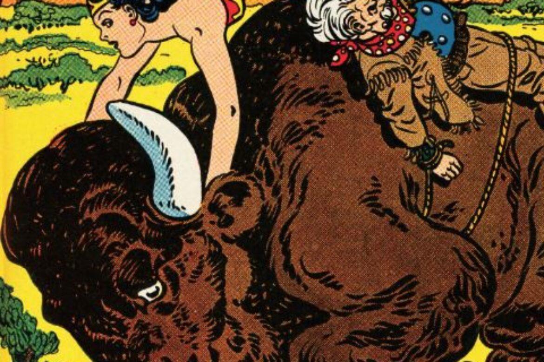 It's a Wild-Wild-Western-Wonder Woman Wednesday!