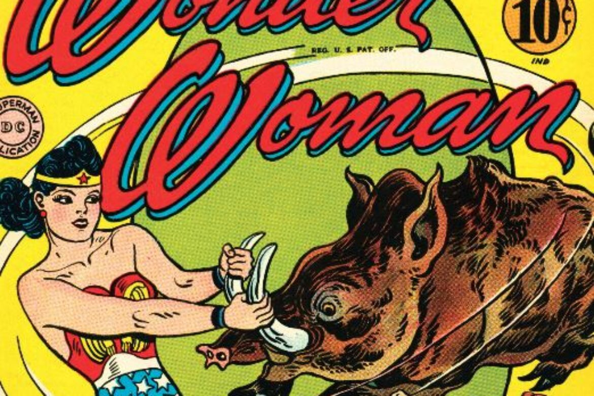 Wonder Woman and the Adventures of the Undersea Amazons!