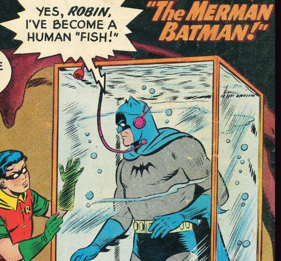 Something FISHY with Batman?