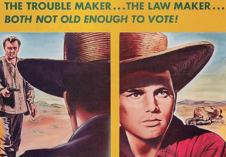 """Vintage Westerns Wednesday Features: """"The Young Land"""" Starring Patrick Wayne"""