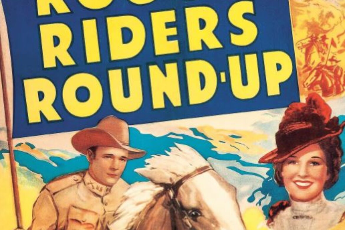 "Roy Rogers in ""Rough Riders Round Up!"""