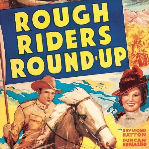 """Roy Rogers in """"Rough Riders Round Up!"""""""