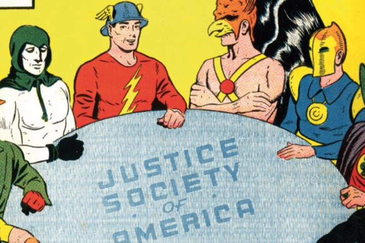 First Appearance of the Justice Society of America!