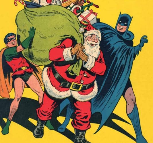 Season's Greetings from Batman And Robin!
