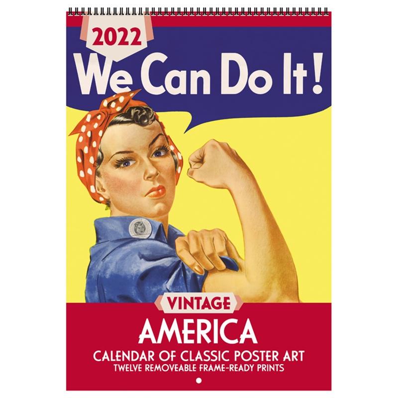 2022 Vintage America Calendar from Asgard Press