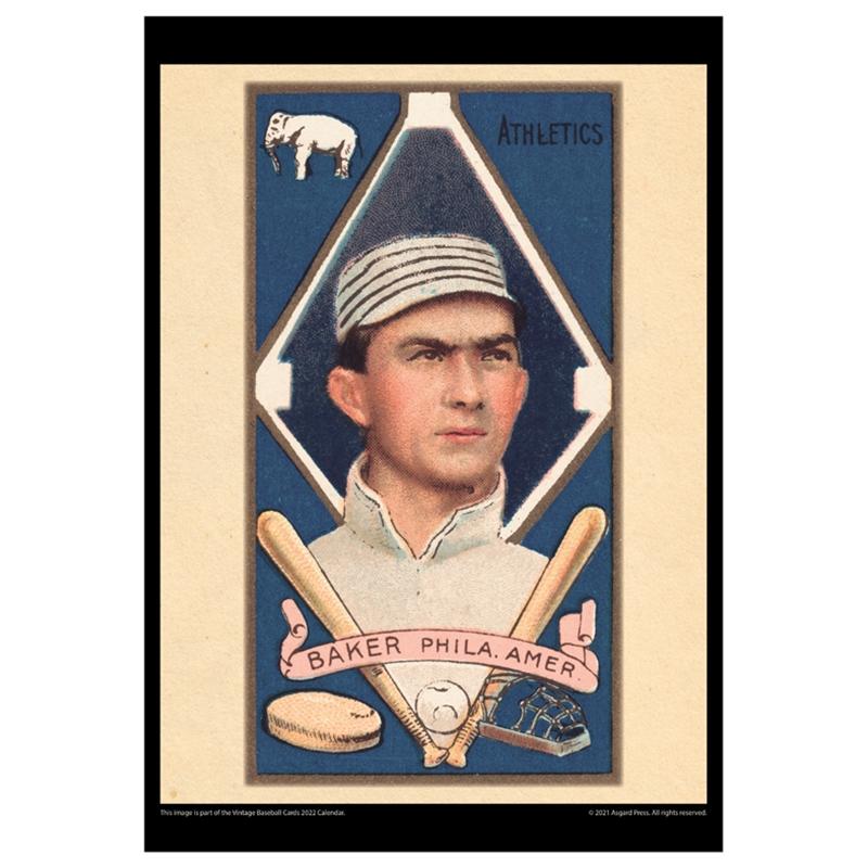 Asgard Press 2022 Vintage Baseball Cards Calendar