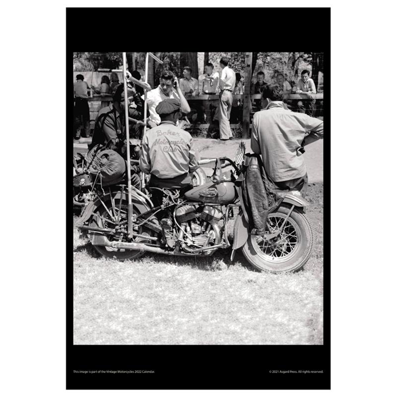 Asgard Press 2022 Vintage Motorcycles Calendar