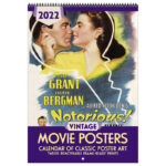 Asgard Press 2022 Vintage Movie Posters Calendar