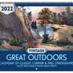 Asgard Press 2022 Vintage Great Outdoors Calendar