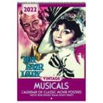 Asgard Press 2022 Vintage Musicals Calendar