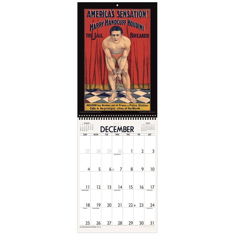 Asgard Press 2022 Vintage Magic Calendar