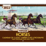 Asgard Press 2022 Vintage Horses Calendar