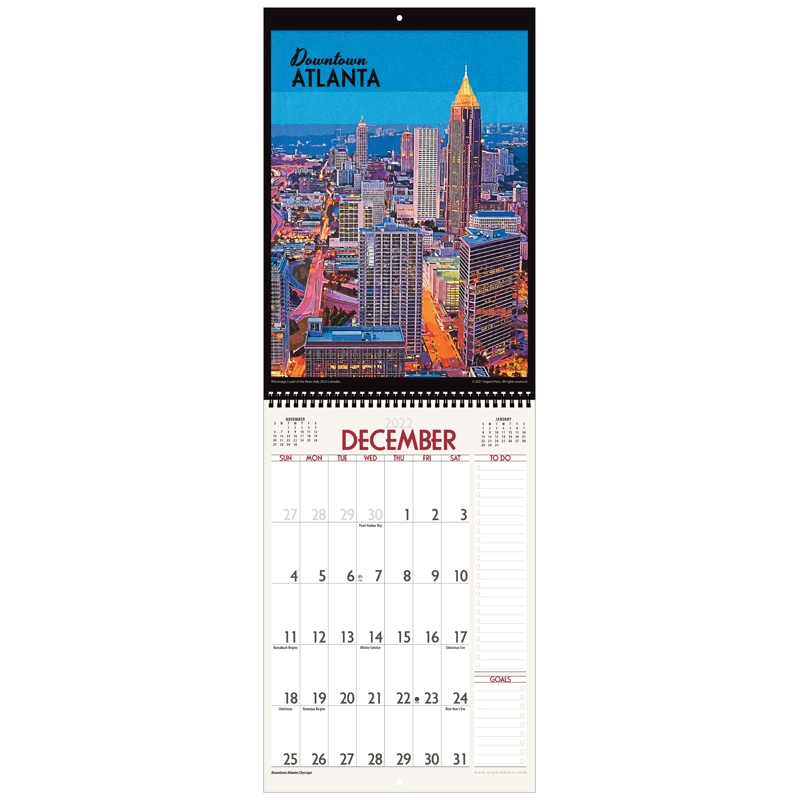 Asgard Press 2022 Retro Atlanta Calendar