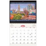 Asgard Press 2022 Retro Boston Calendar