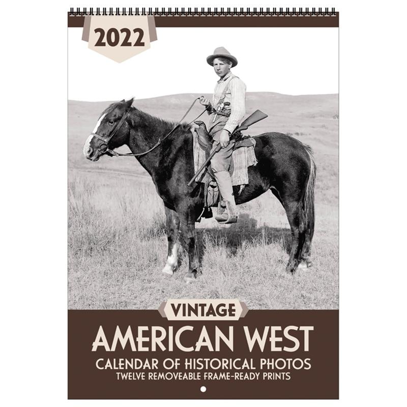 Asgard Press 2022 Vintage American West Calendar
