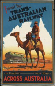 Vintage Australian Travel Poster