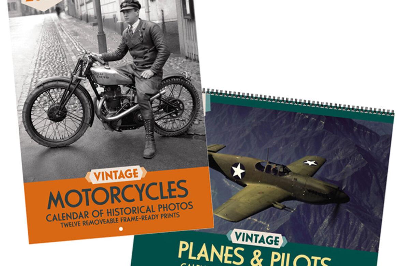 Sneak Peek: 2022 Vintage Motorcycles & Vintage Planes