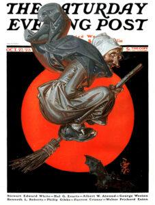 Saturday Evening Post cover, October 27, 1923