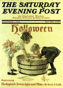 Saturday Evening Post cover, November 1, 1913