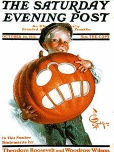 Saturday Evening Post cover October 26, 1912